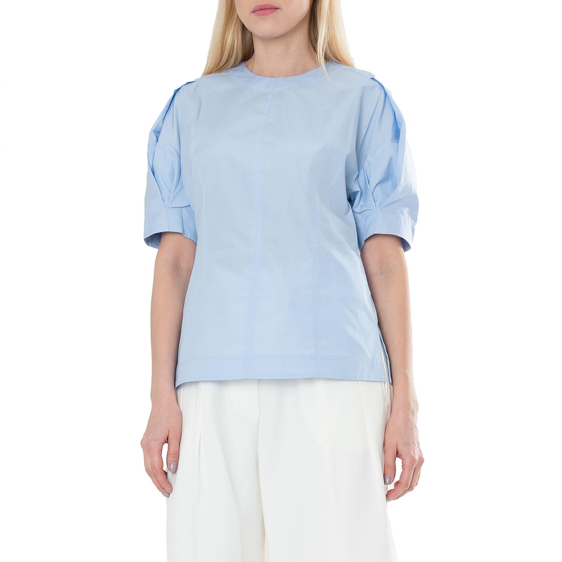 Блуза 3.1 Phillip Lim 3.1 Phillip Lim голубая