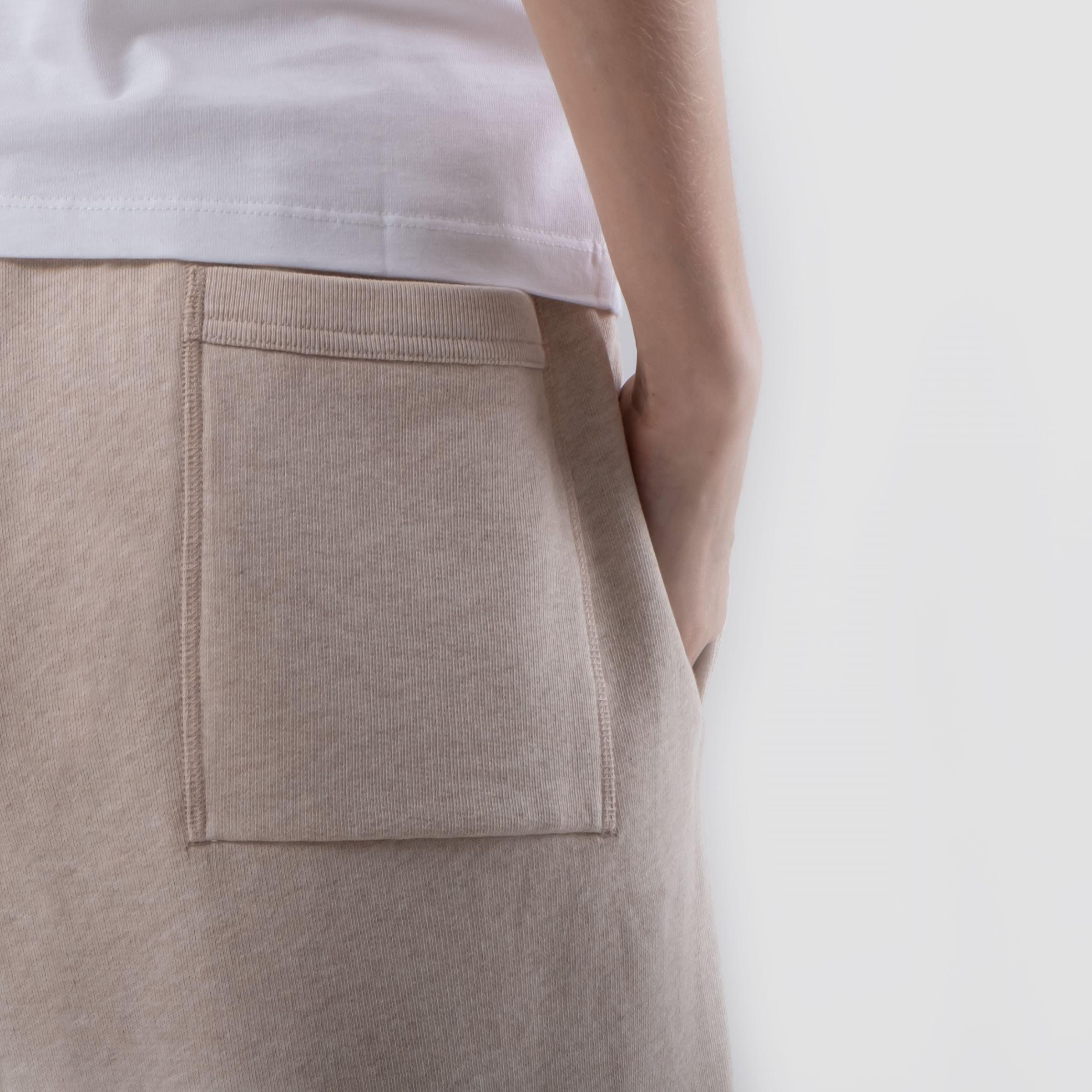 Спортивные брюки Acne Studios бежевые