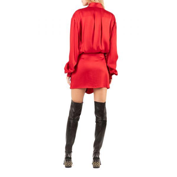 Платье The Attico GIGI красное