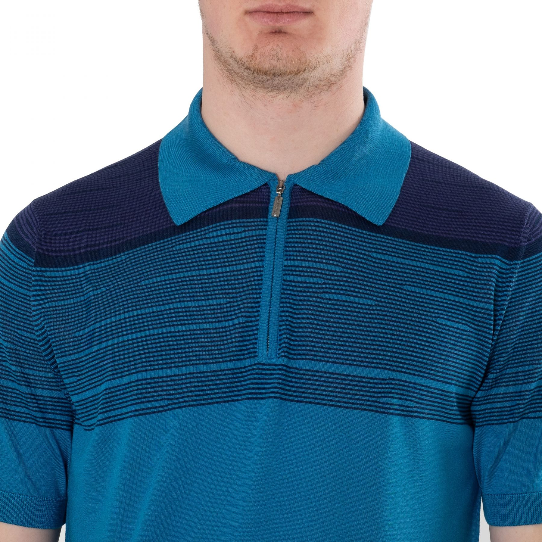 Поло Castangia голубое