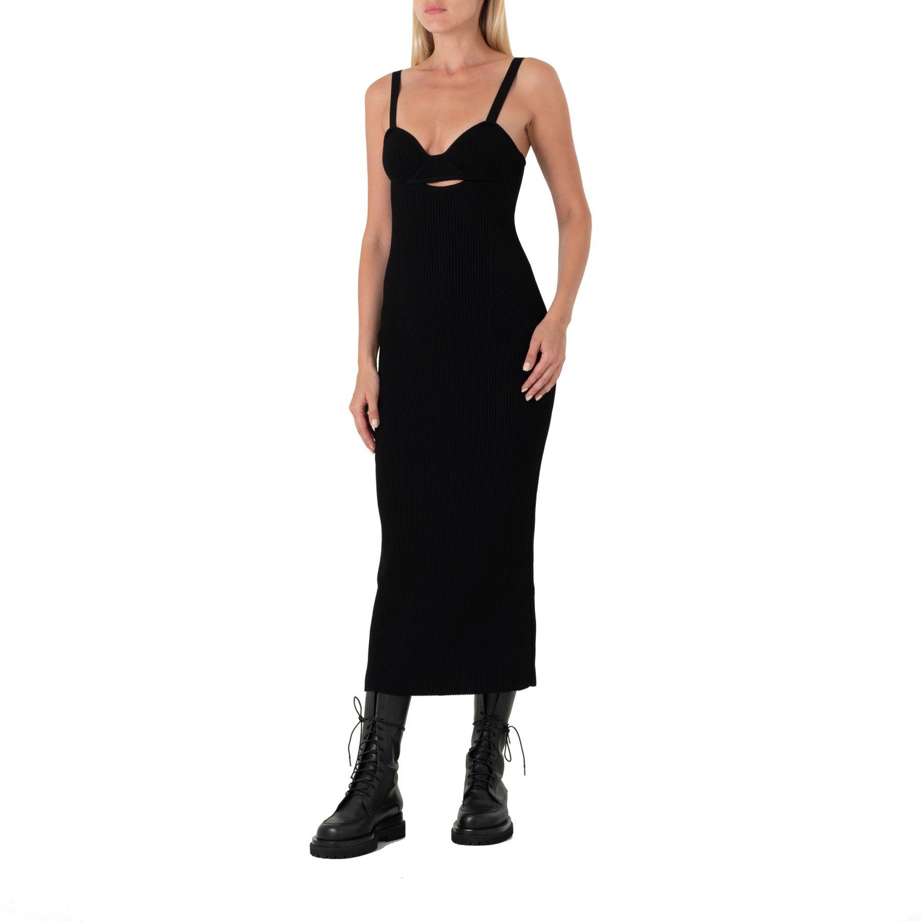 Платье длинное Magda Butrym черное