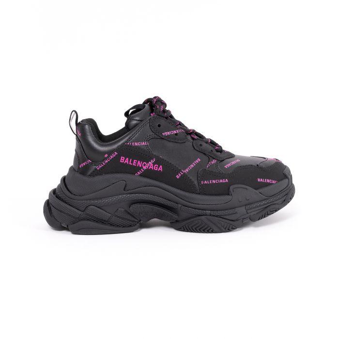 Кроссовки Balenciaga Triple S черные