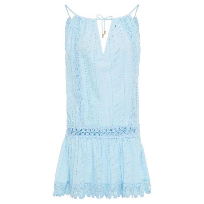 Платье Melissa Odabash Chelsea голубое