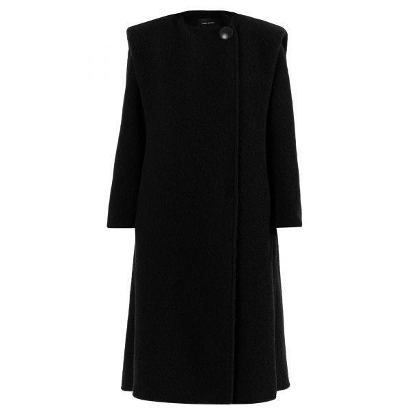 Пальто Isabel Marant черное