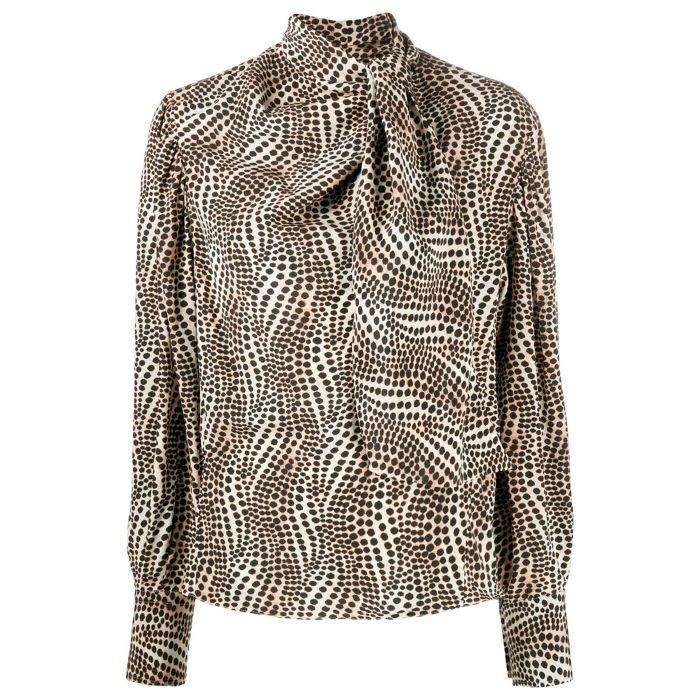 Блуза Isabel Marant разноцветная