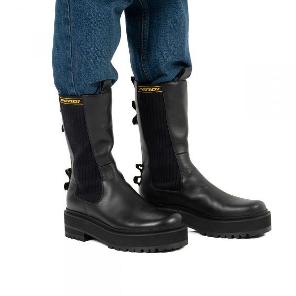 Ботинки Fendi Promenade черные