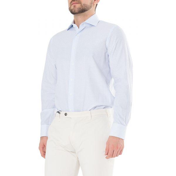 Рубашка с длинными рукавами Tombolini светло-голубая