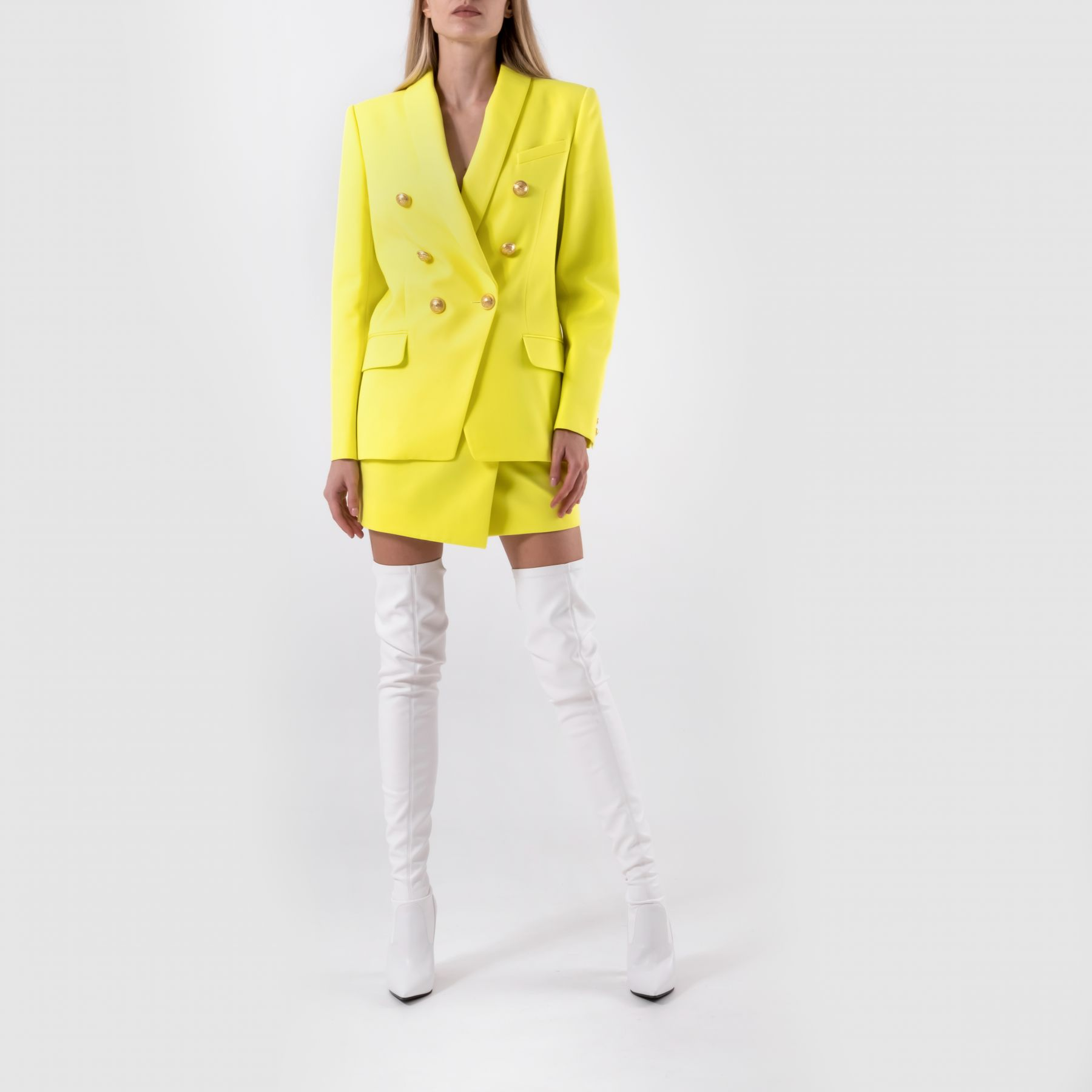 Жакет  Balmain желтый
