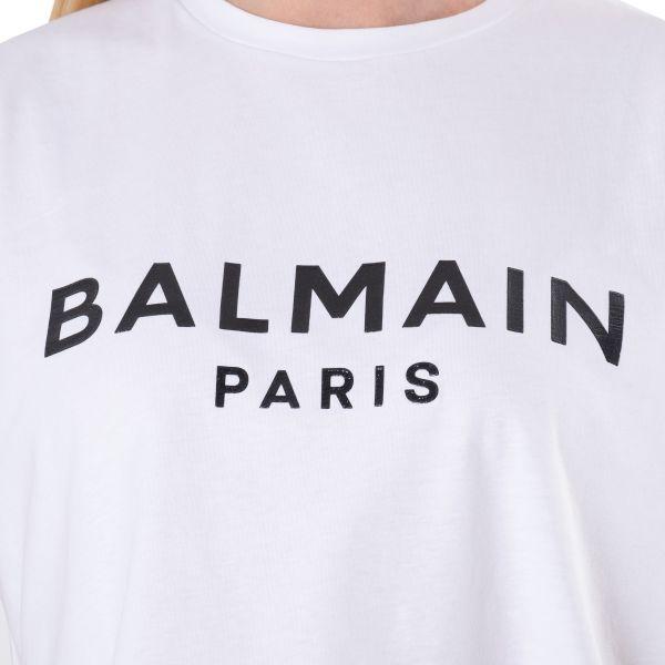Футболка Balmain белая