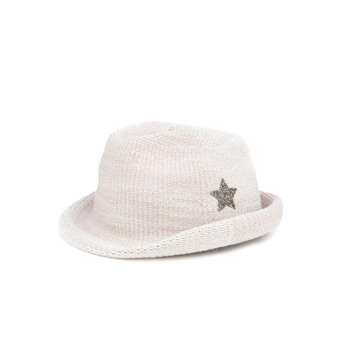 Шляпа Lorena Antoniazzi молочная