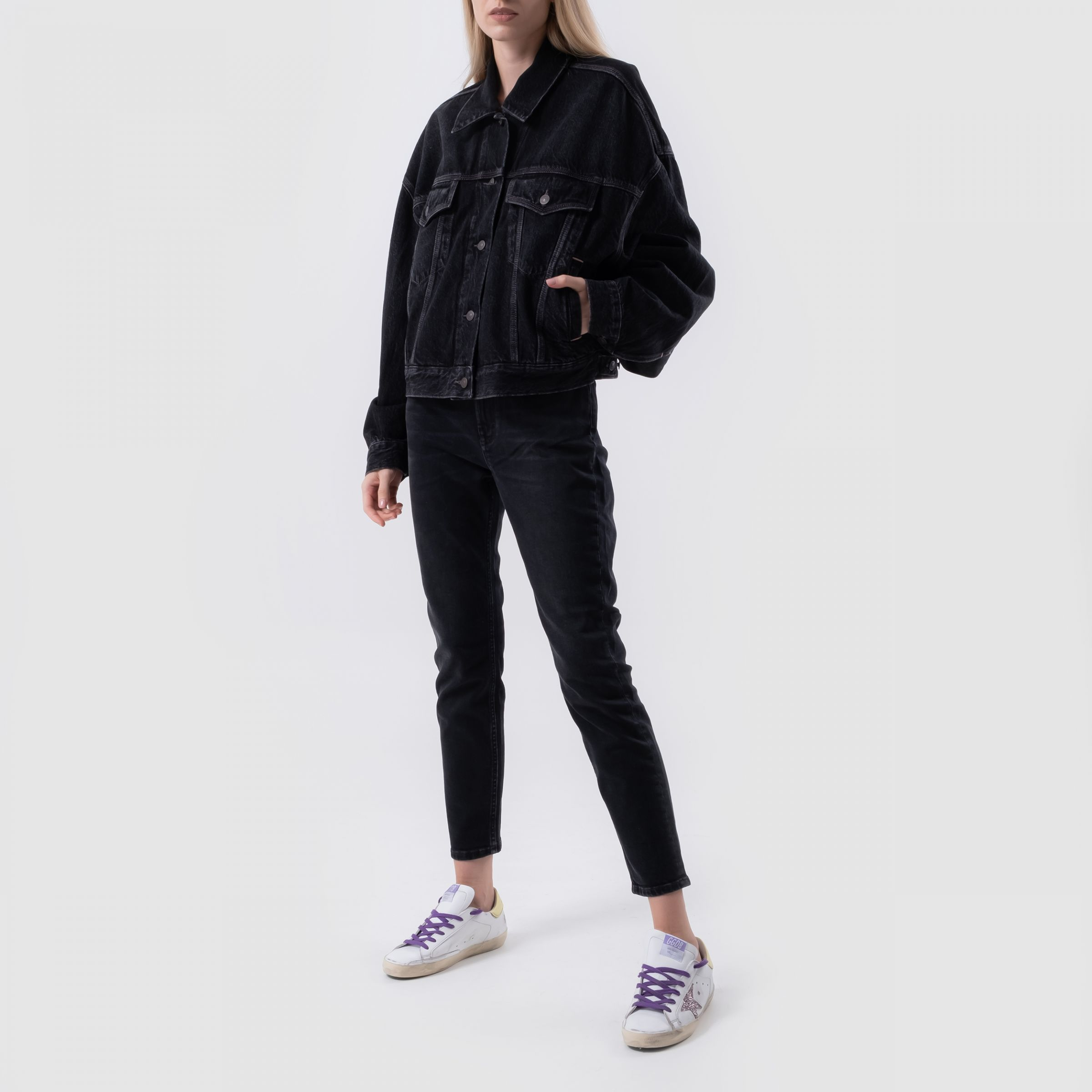 Куртка Acne Studios черная
