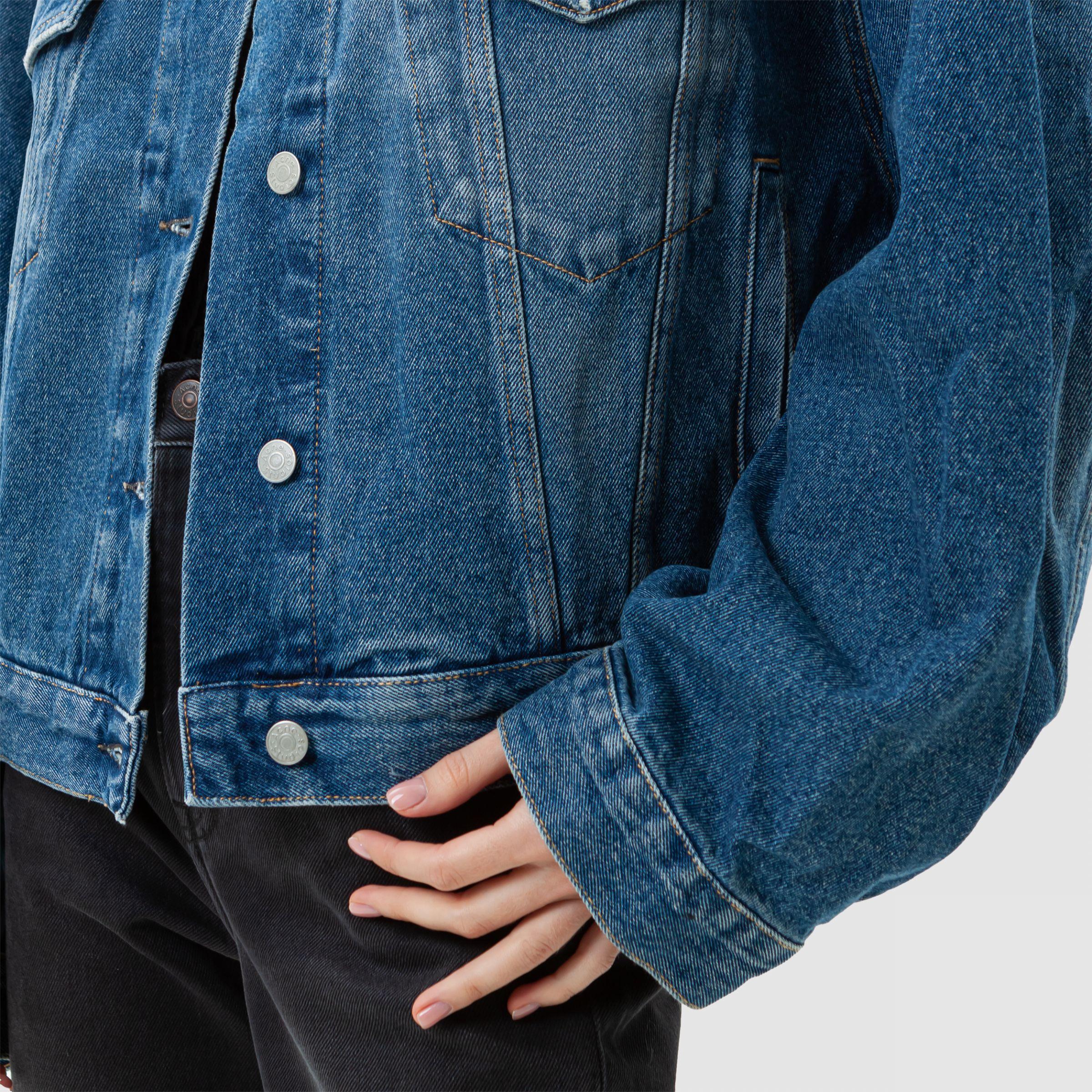 Куртка Acne Studios голубая