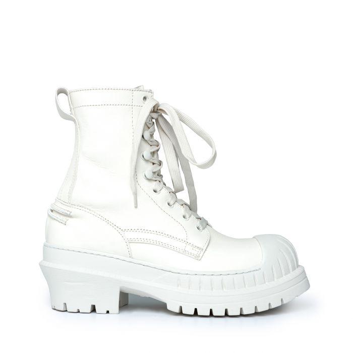 Ботинки флет Acne Studios белые