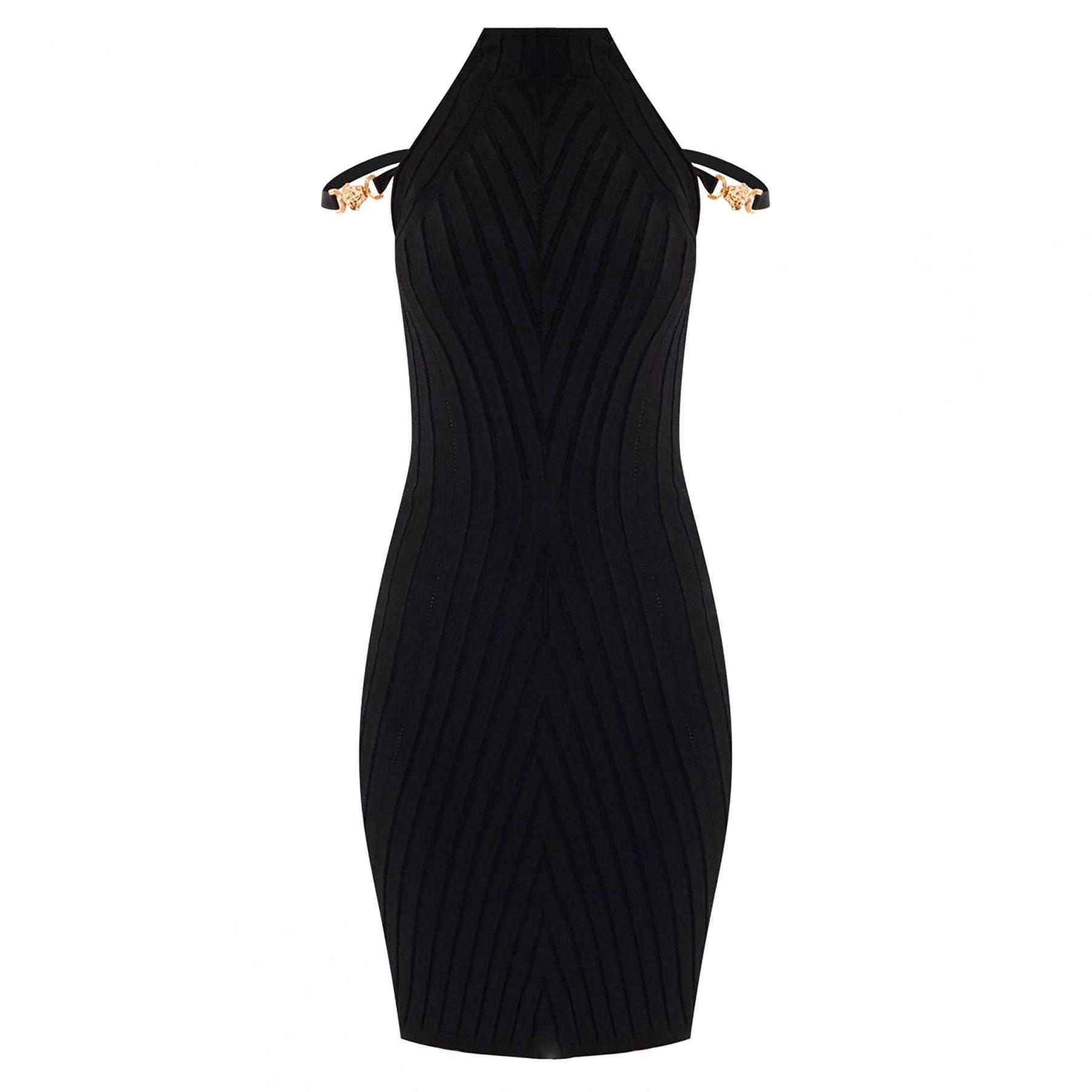 Платье Versace черное