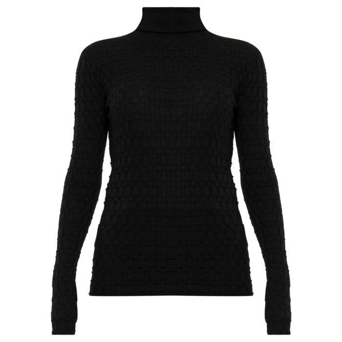 Свитер Versace черный
