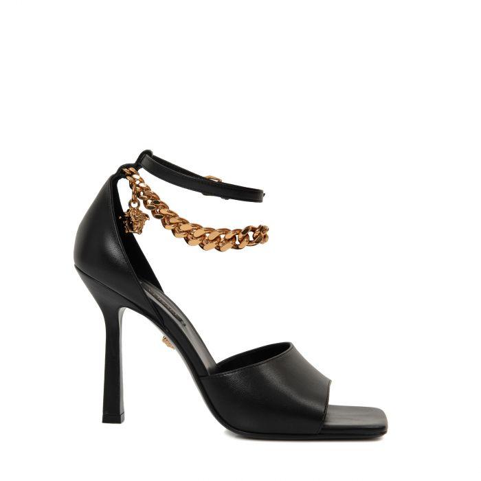Босоножки Versace черные