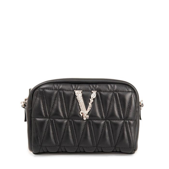 Сумка Versace Virtus черная