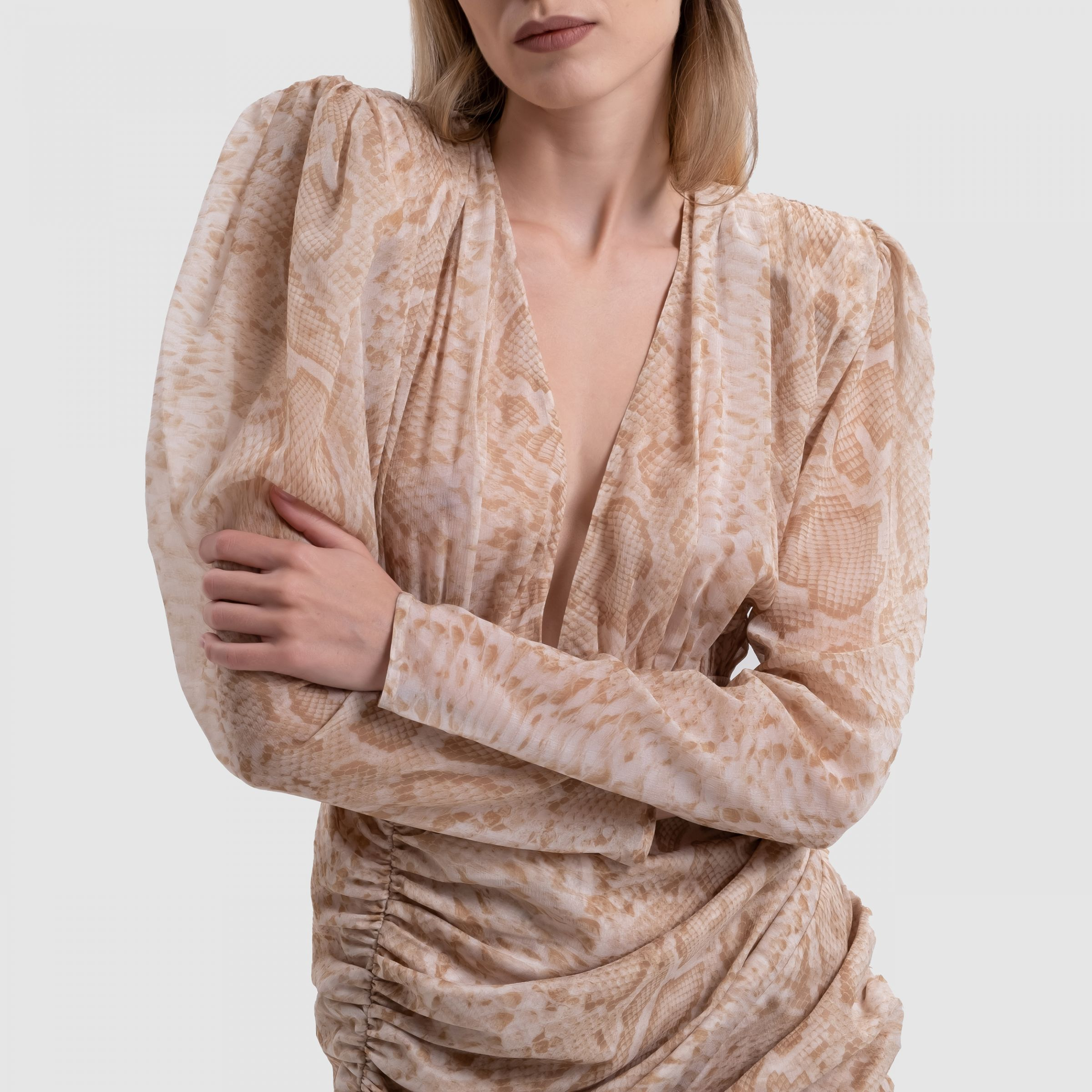 Платье Magda Butrym бежевое