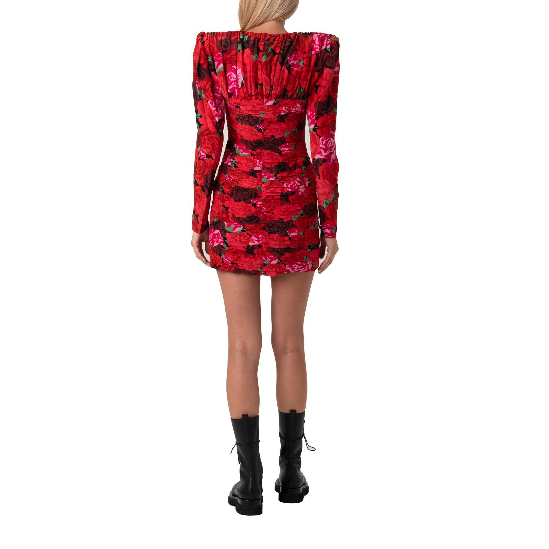 Платье Magda Butrym красное
