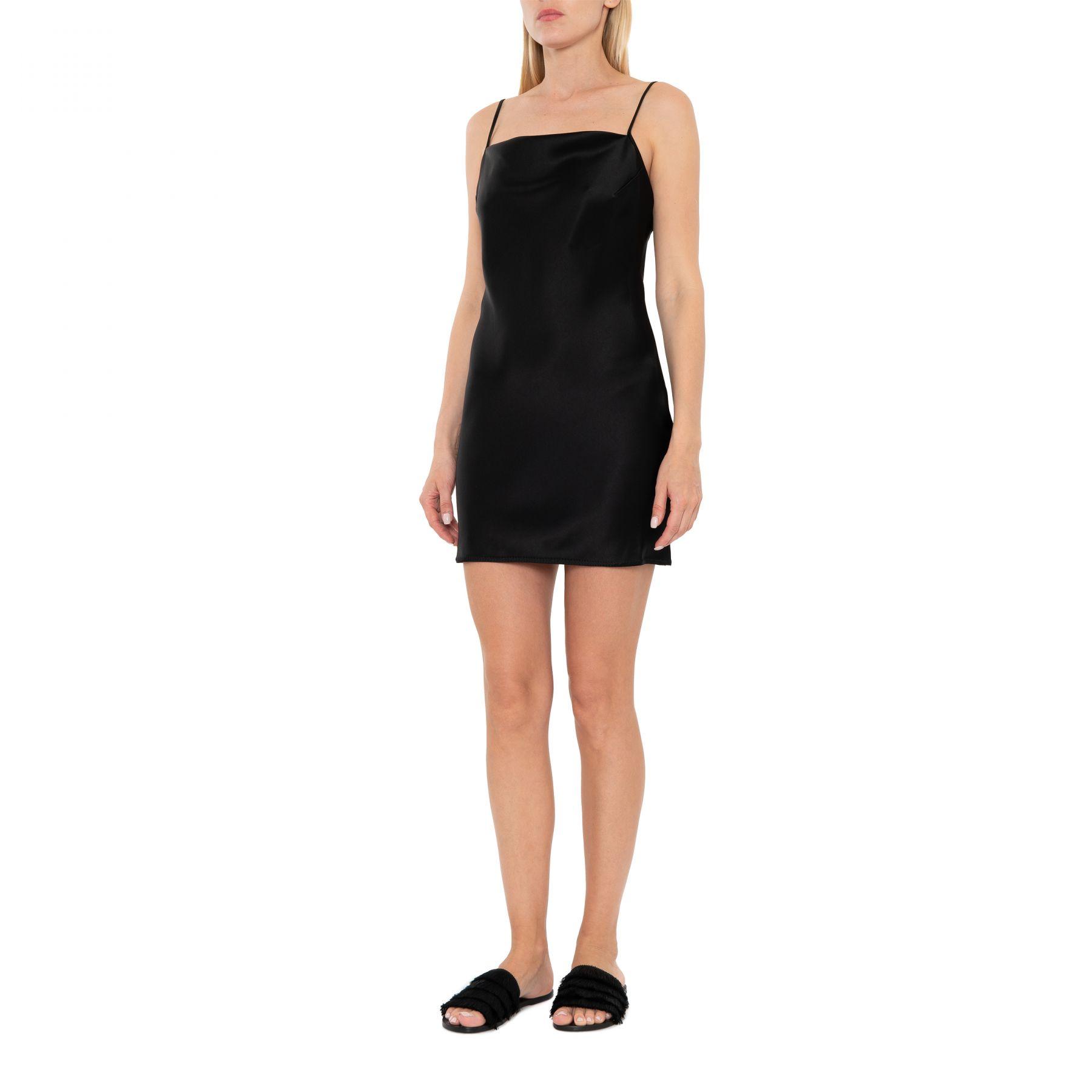 Платье Nanushka Lotti черное