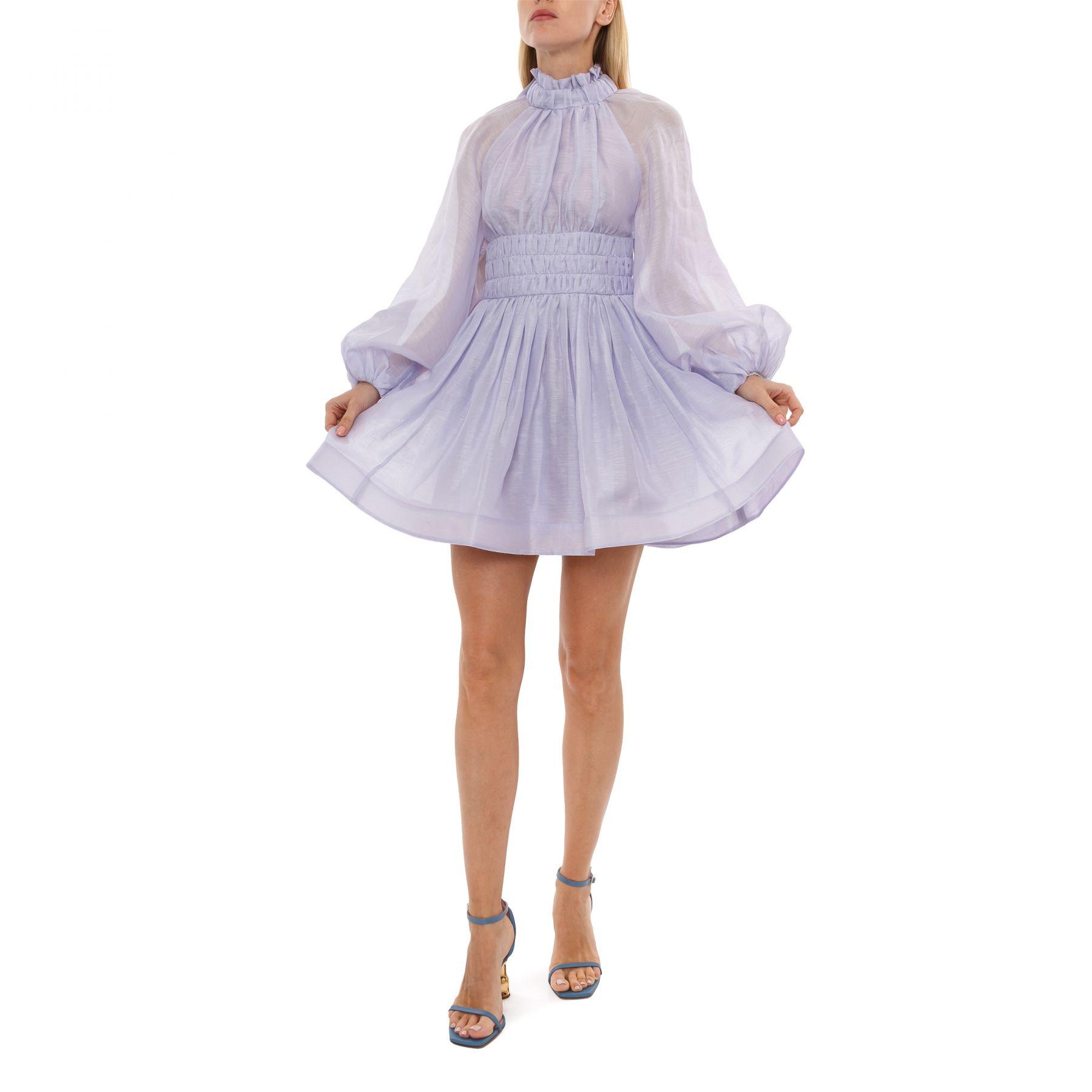 Платье Zimmermann Luminous лавандовое