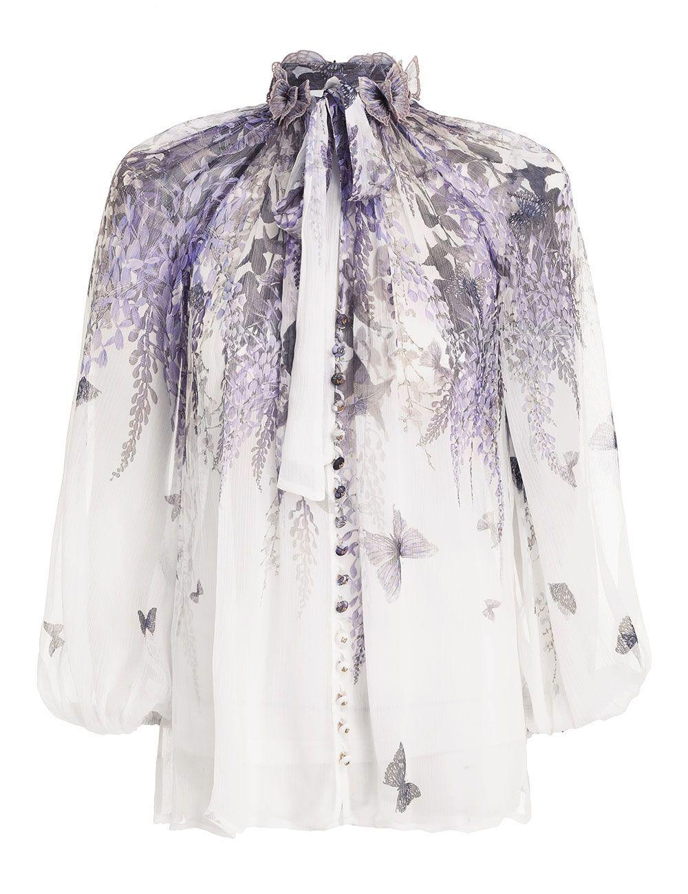 Блуза Zimmermann белая