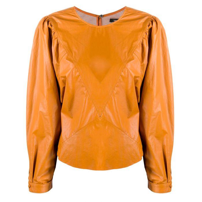 Топ Isabel Marant оранжевый