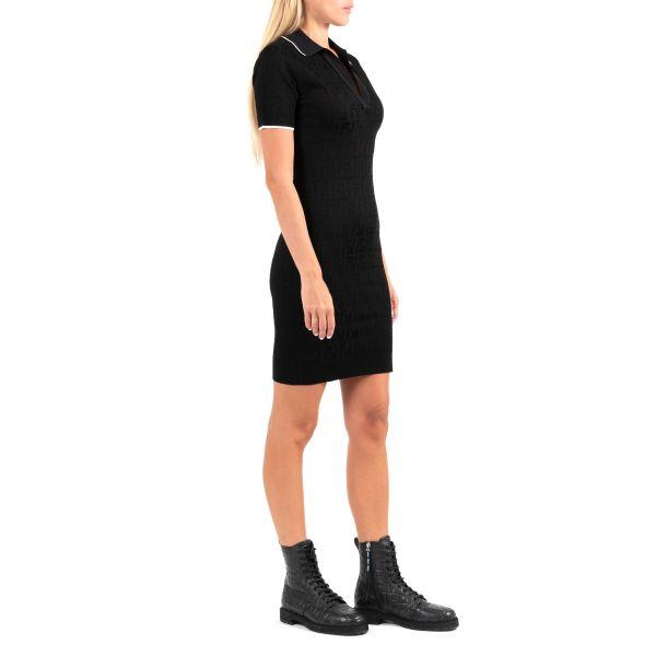 Платье Fendi черное