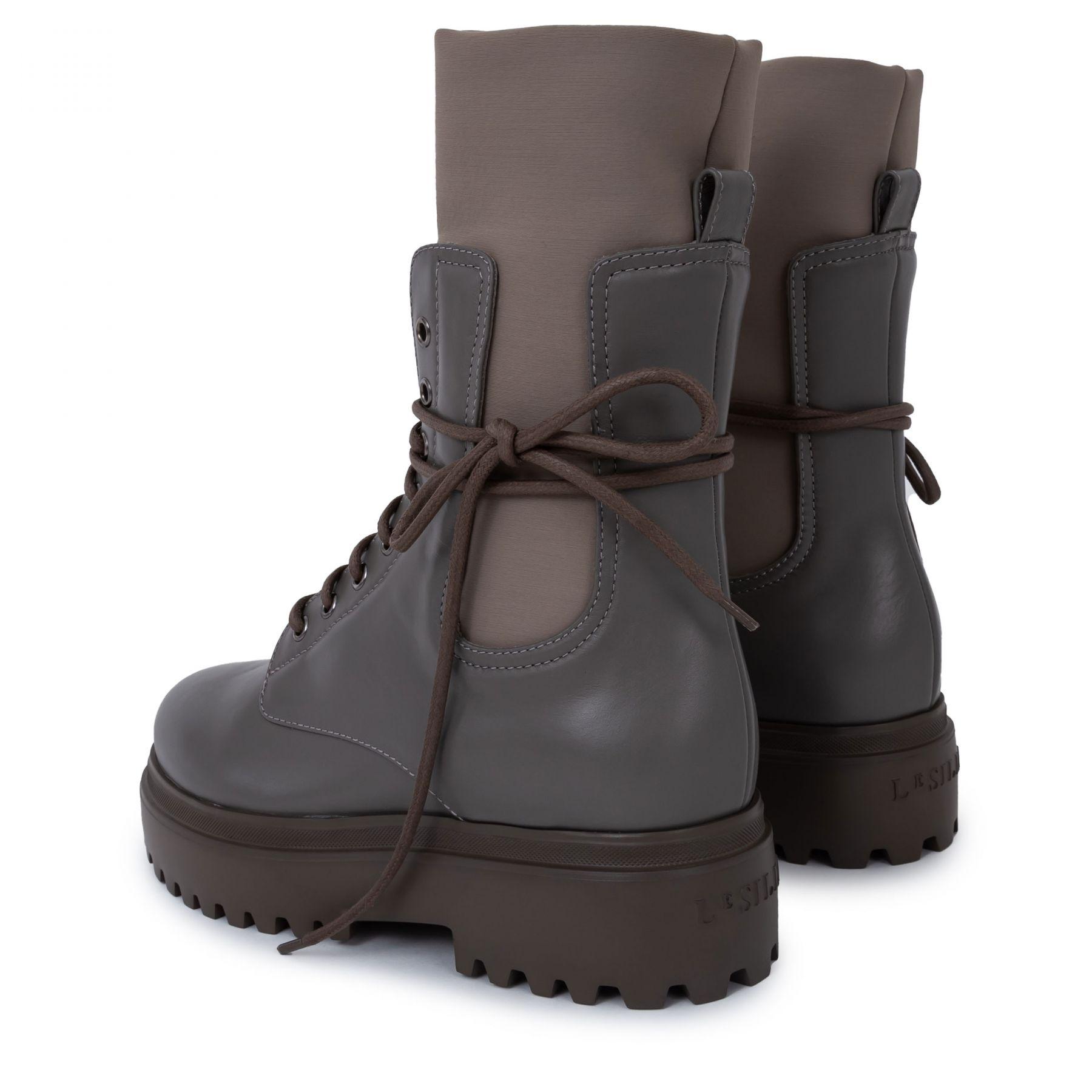 Ботинки флет Le Silla Ranger серые