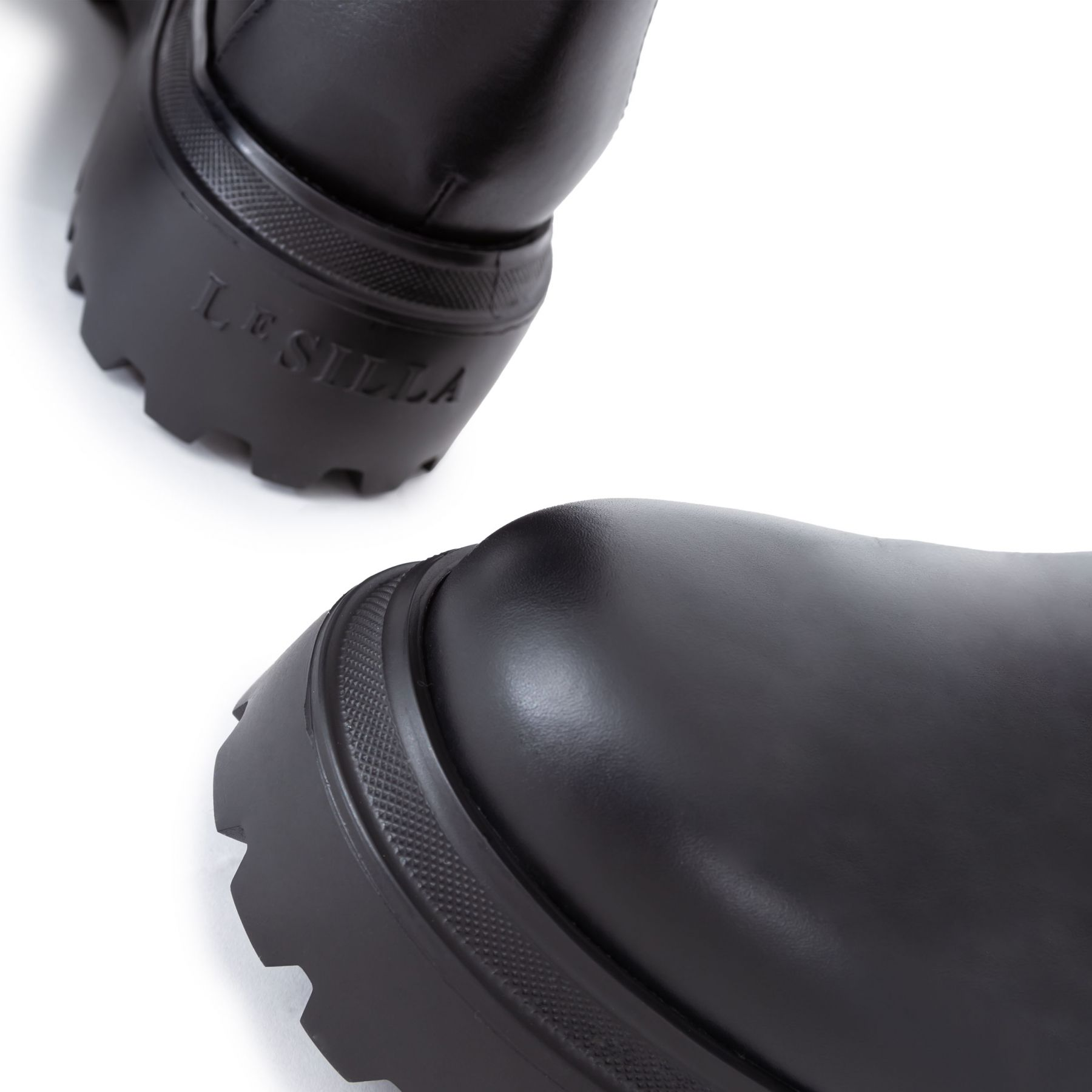 Сапоги флет Le Silla Ranger черные