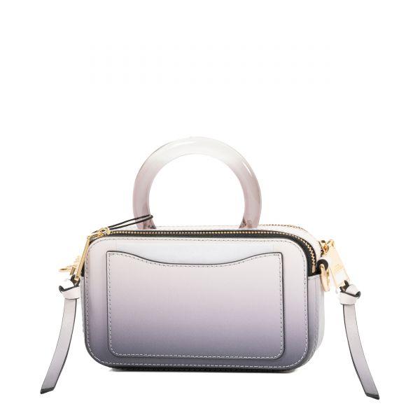 Сумка Marc Jacobs The Snapshot Resin фиолетово-белая
