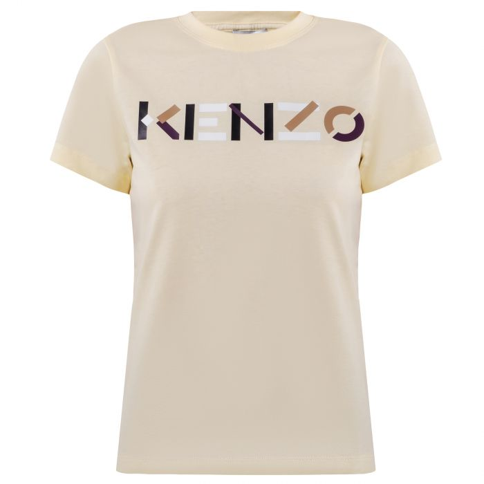Футболка Kenzo желтая