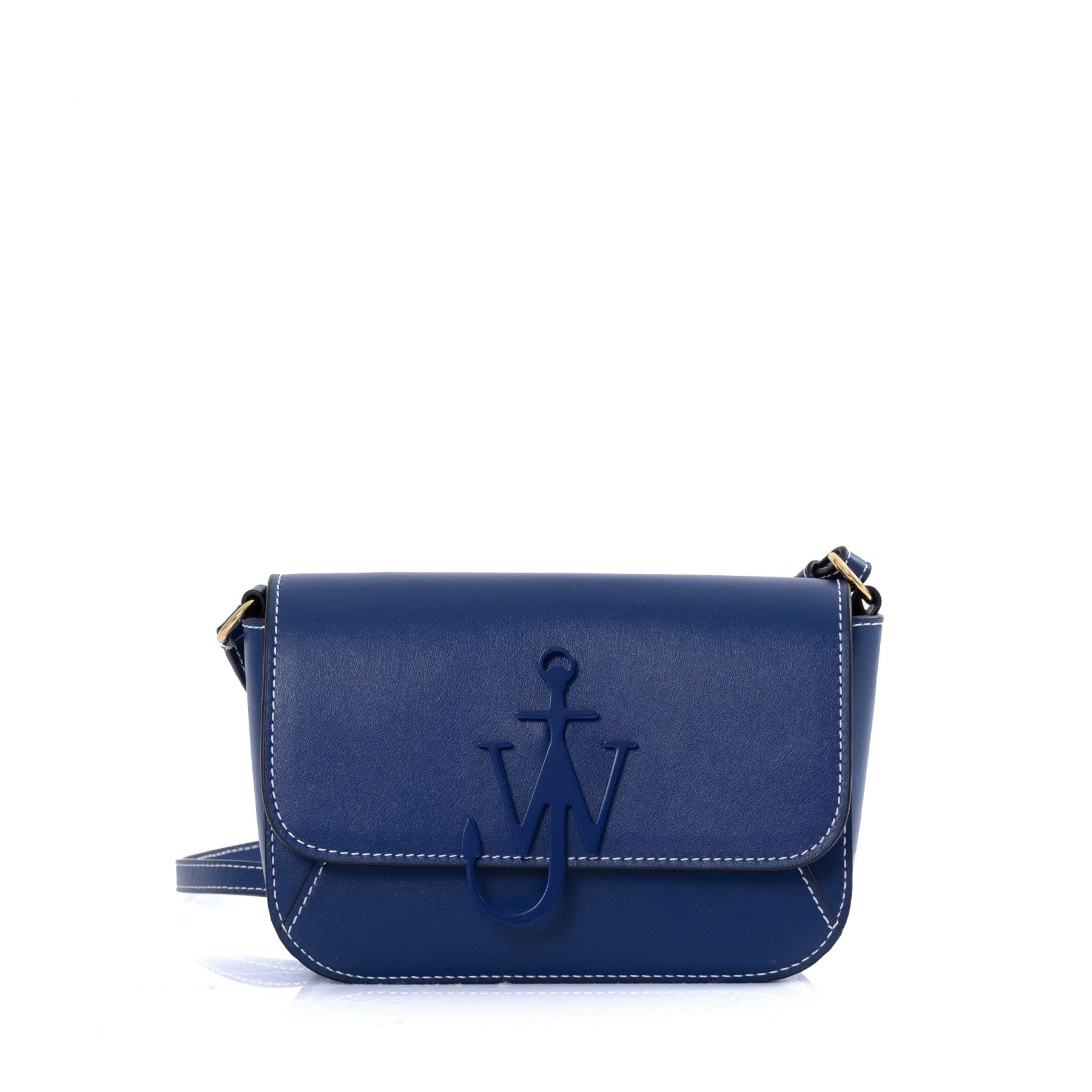 Сумка J.W.Anderson Chain Midi Anchor синяя