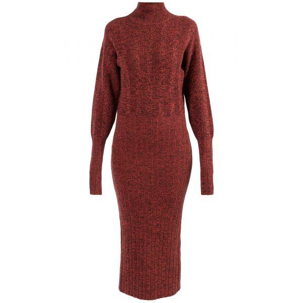 Платье длинное Kenzo красное