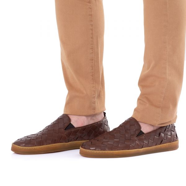 Сникеры Henderson коричневые