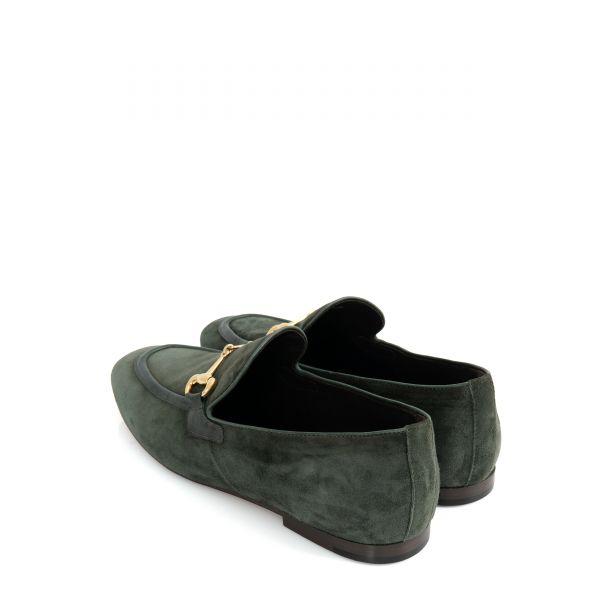 Лоферы Henderson темно-зеленые