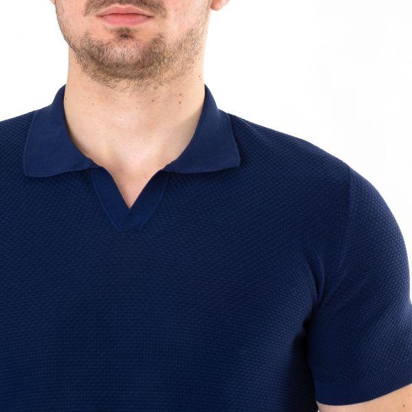 Поло Drumohr синее