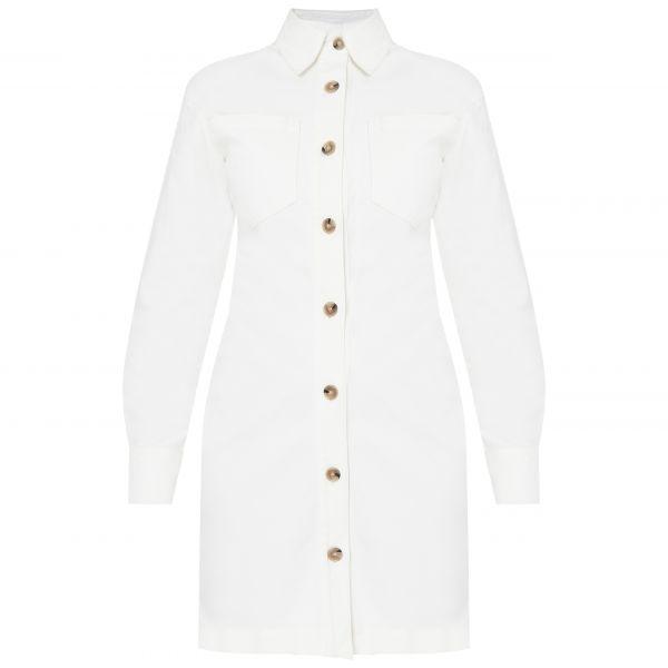 Платье Nanushka Daisy белое