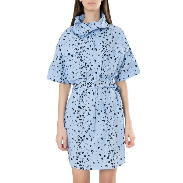 Платье Kenzo голубое