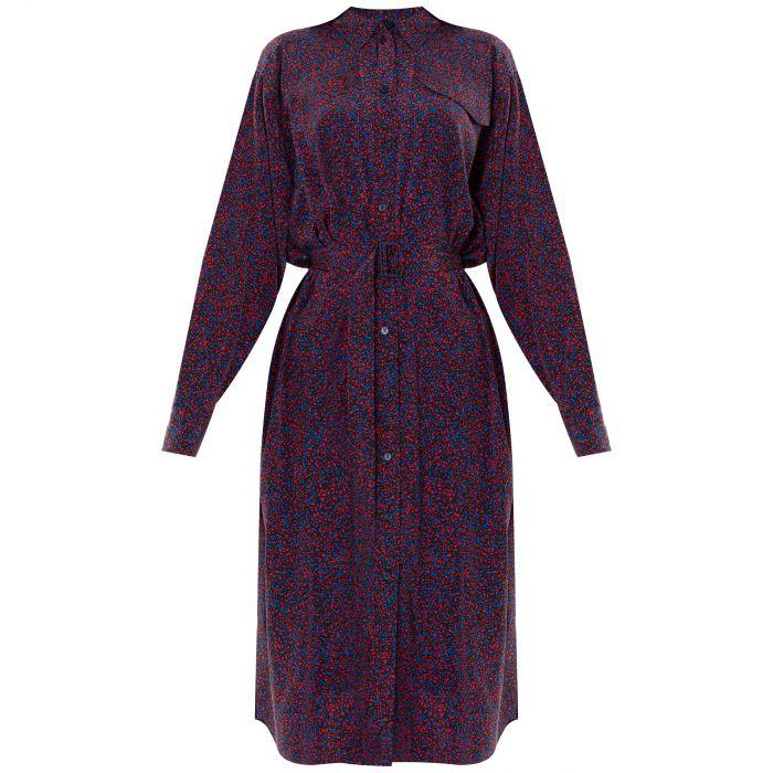 Платье Kenzo фиолетовое