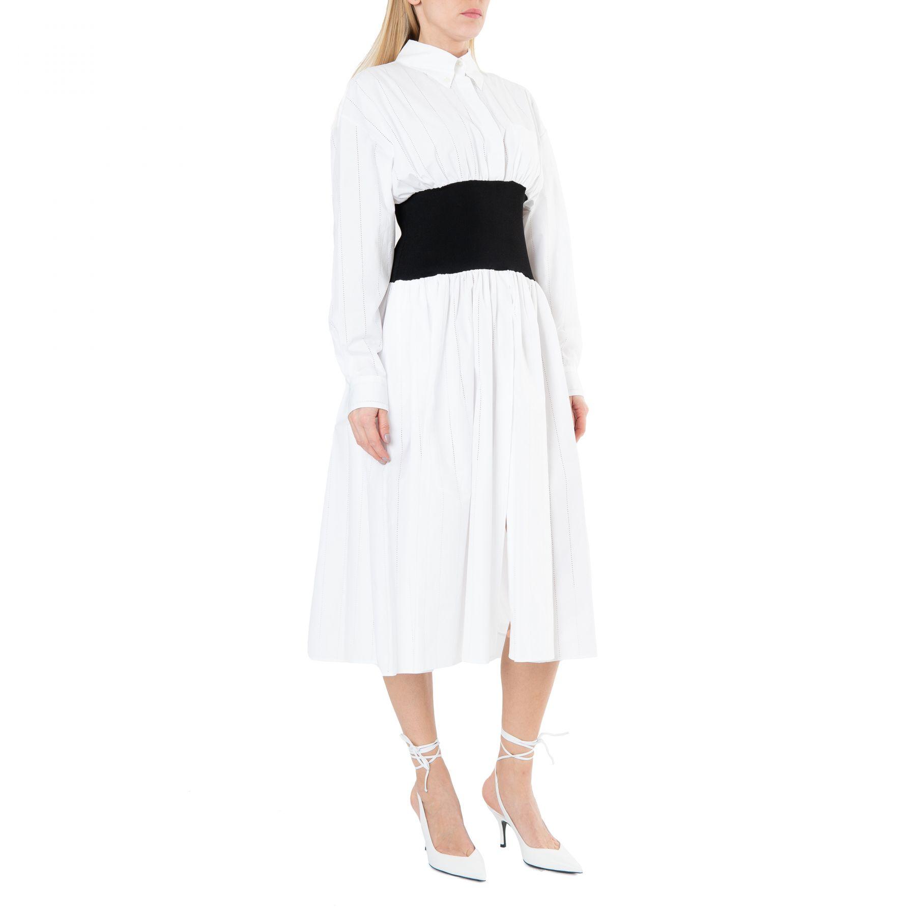 Платье Alexandre Vauthier белое