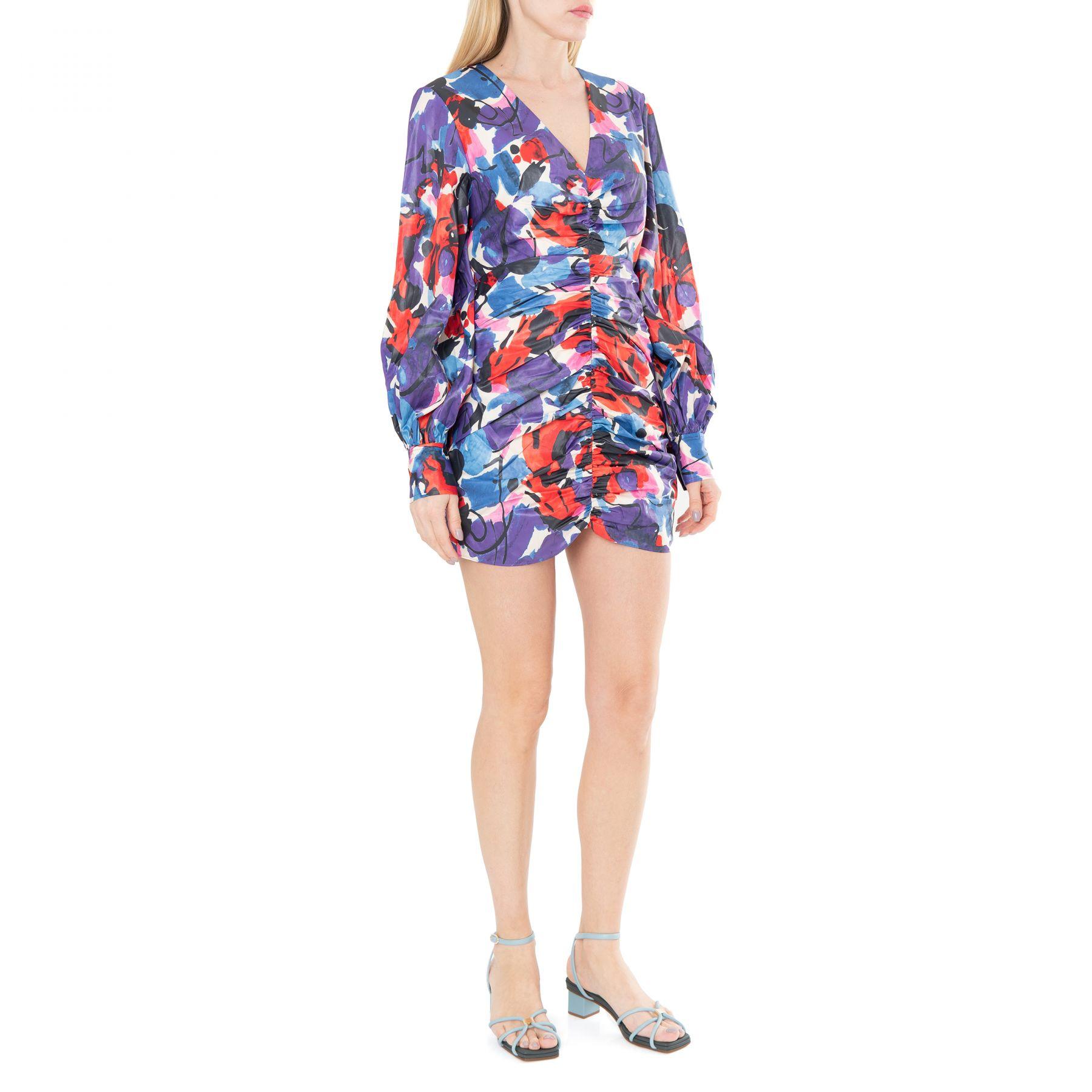 Платье Rotate разноцветное