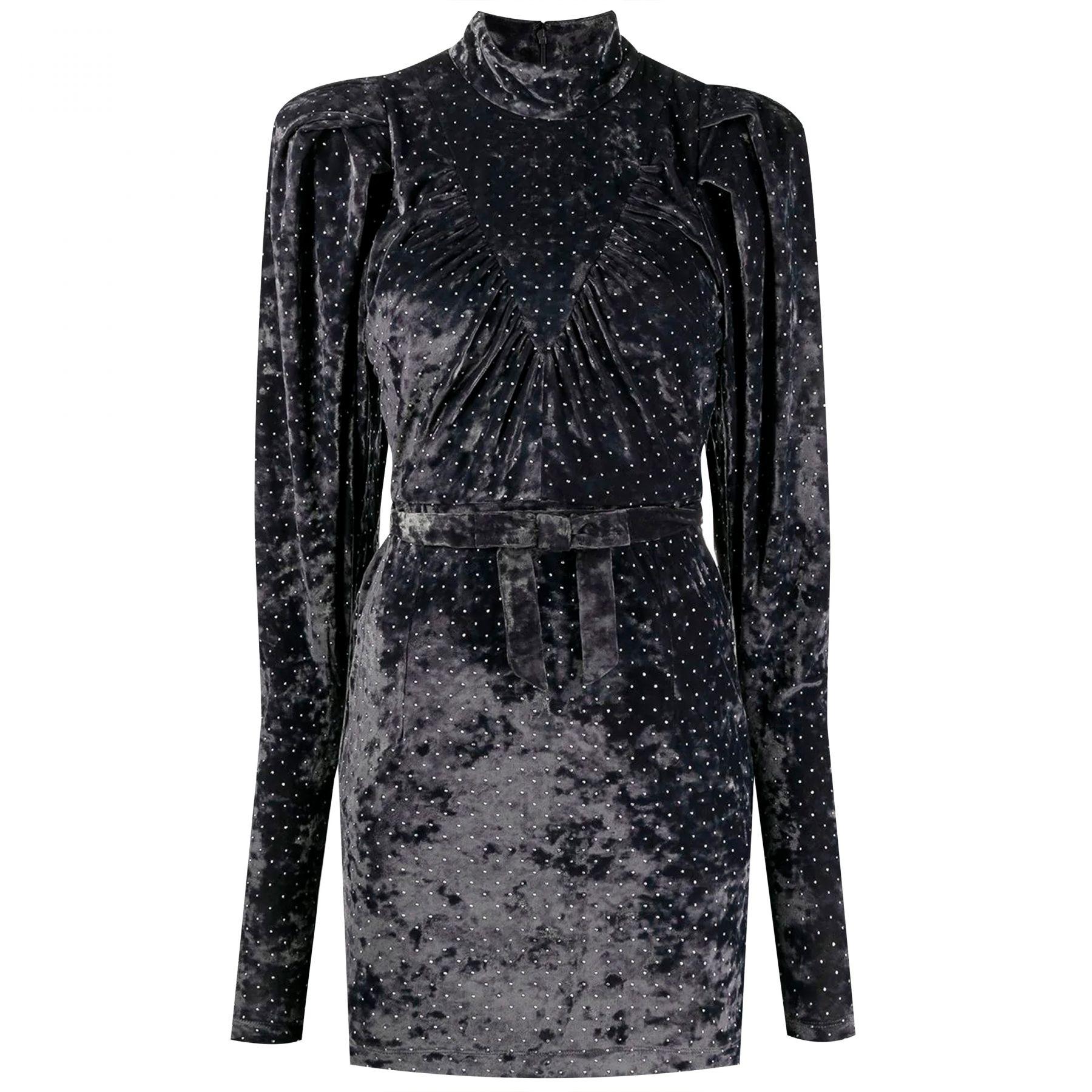 Платье Rotate темно-серое