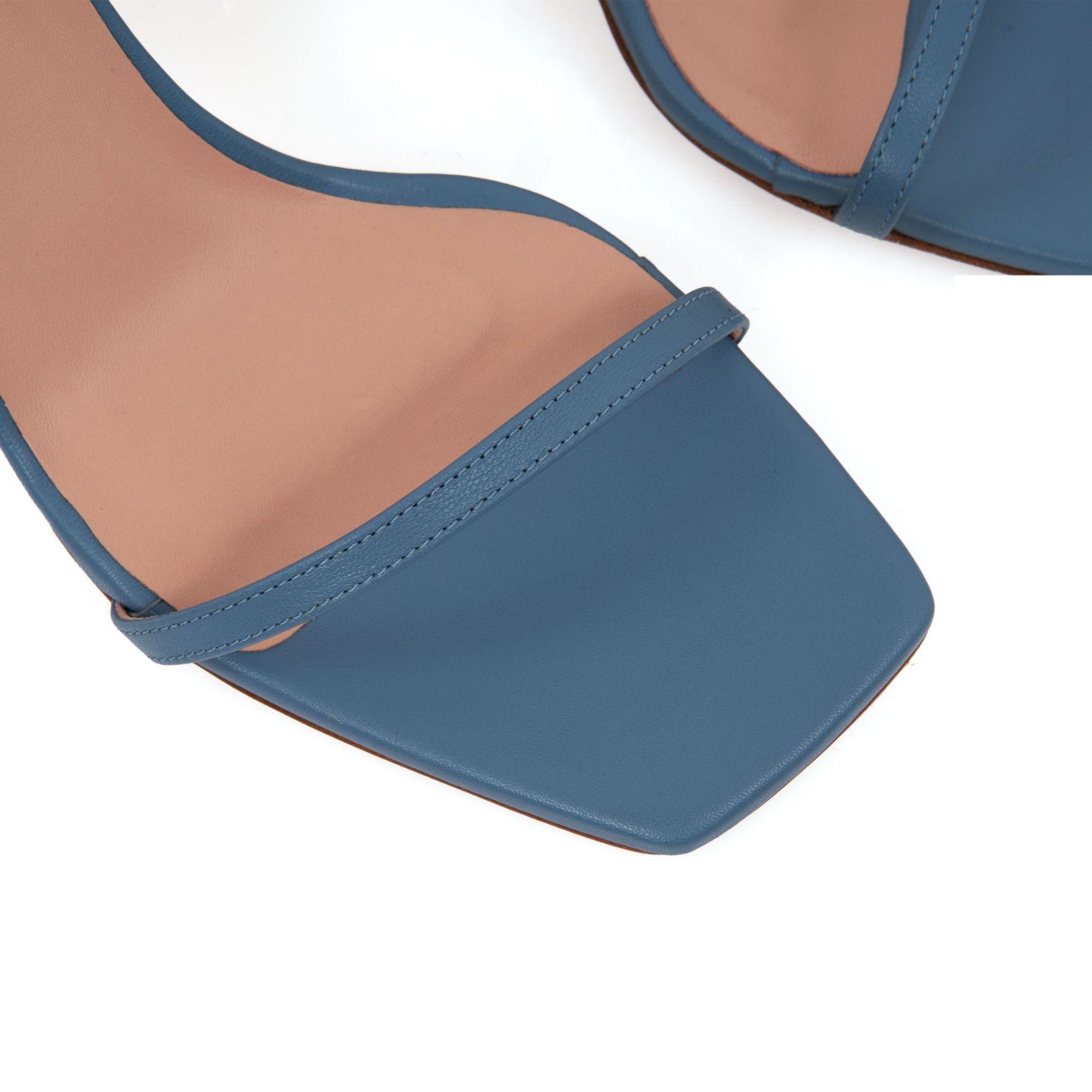 Босоножки Gia Bacio 03 голубые