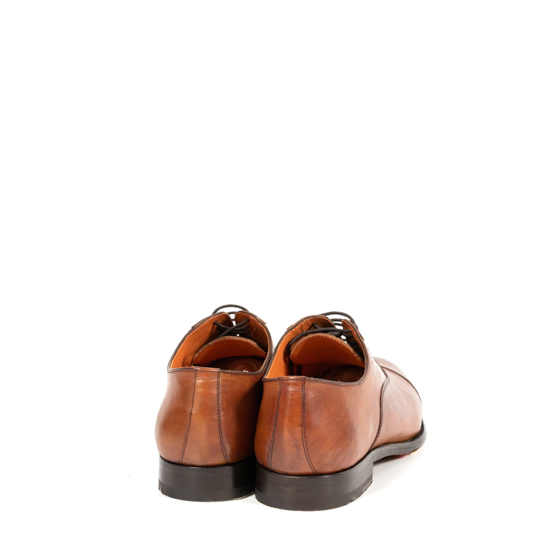 Оксфорд Andrea Ventura Siena коричневые