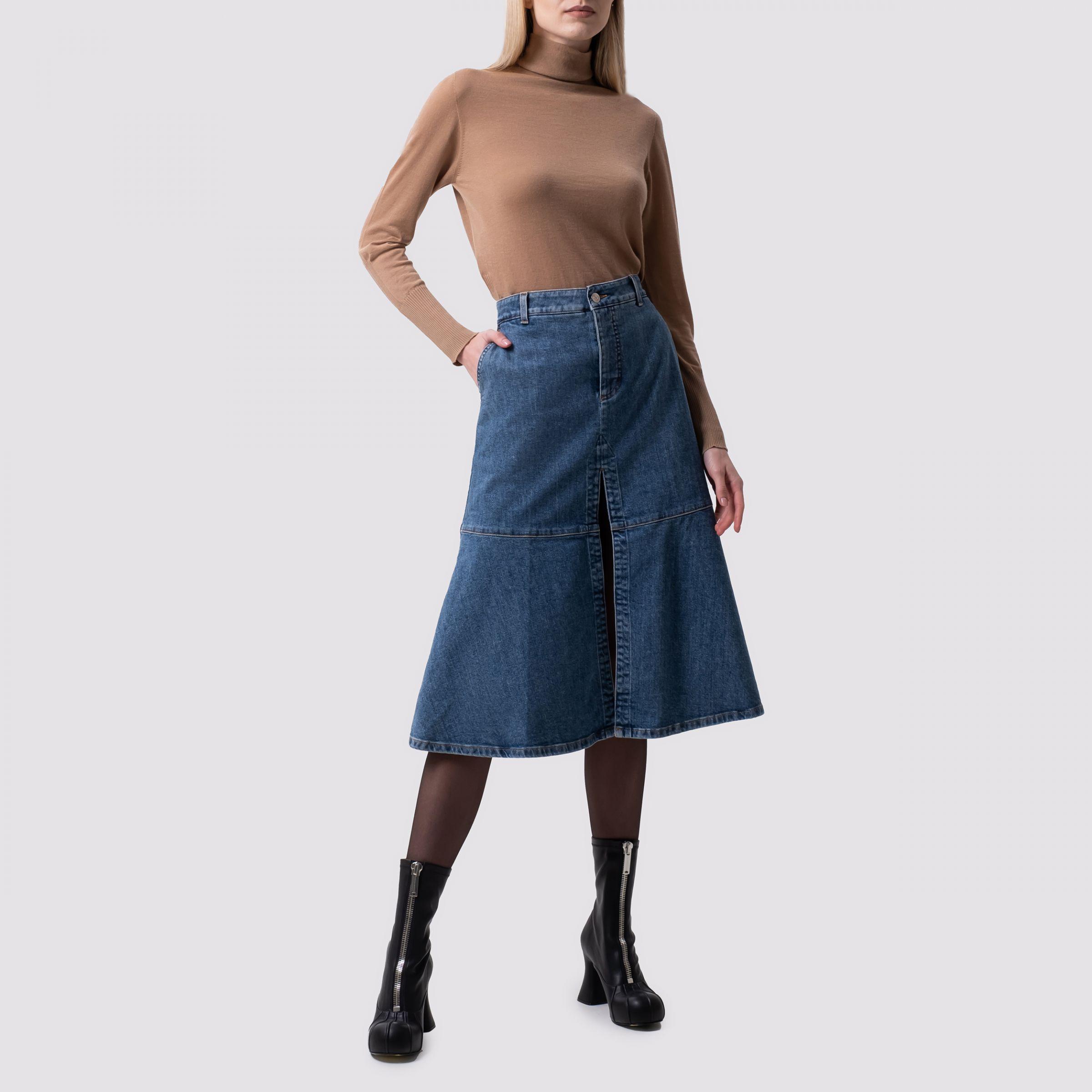 Юбка Stella McCartney синяя
