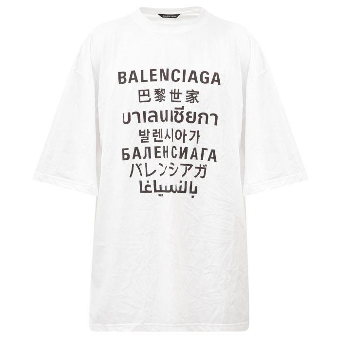 Футболка Balenciaga белая