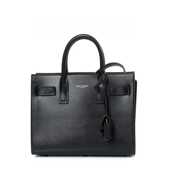 Сумка Saint Laurent Sac de Jour Nano черная