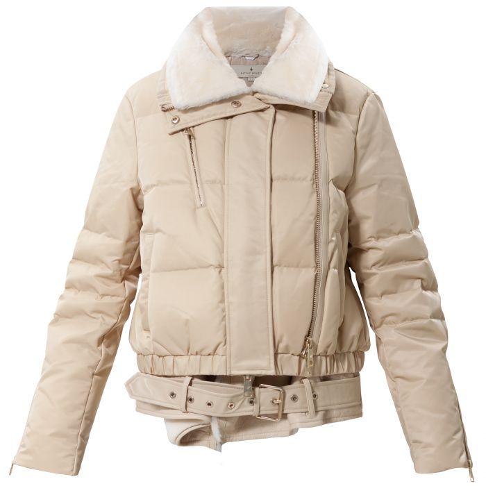 Куртка Nicole Benisti Haydon бежевая