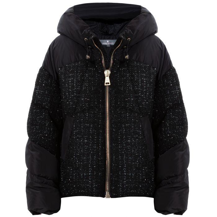 Куртка Nicole Benisti Matignon Tweed черная